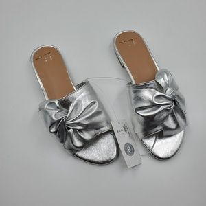 4/$25  Knotted Slide Sandals A New Day